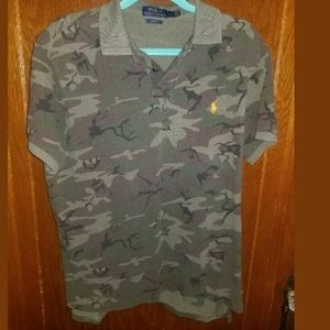 Polo Ralph Lauren Camouflage Polo Large